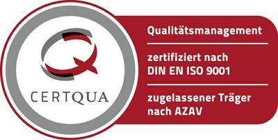 Certqua Zertifizierungssiegel