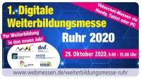 #bereitfürzukunft mit der 1. Digitalen Weiterbildungsmesse Ruhr 2020!